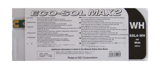 Cartuccia Roland Eco-Sol MAX2